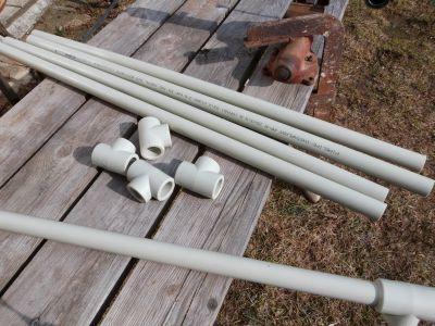 Vodovodní trubky kovové